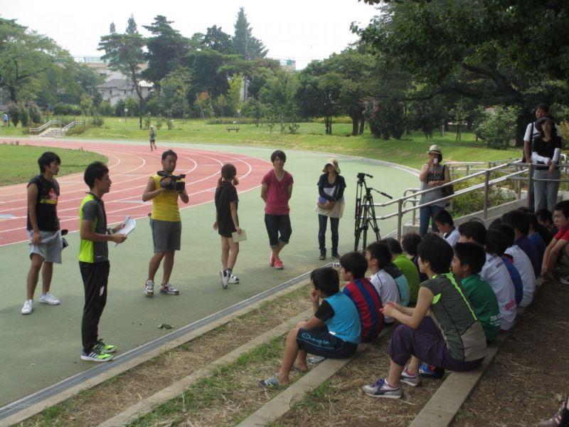 抜かれる!?小学生高学年が100m走後半を速く走るための方法