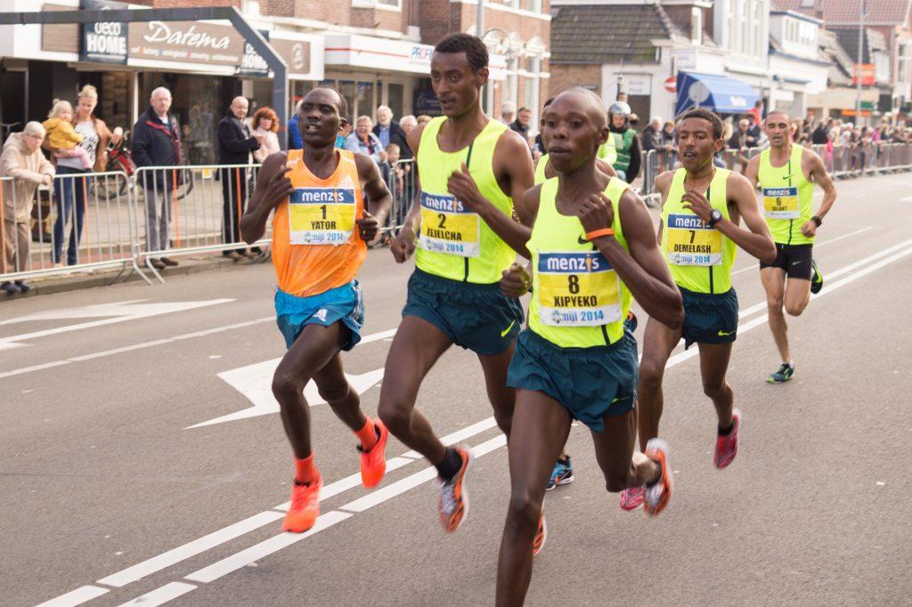 マラソン走り方